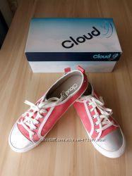Розовые слипоны на шнурках 40 Cloud