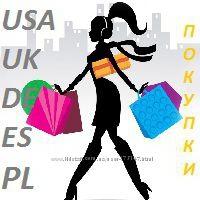 Заказы в США Англия Германия Испания Польша