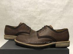 Ecco Kenton оригинал р. 45 46 new туфли кожаные классика деловые новые