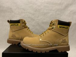 Caterpillar Second Shift Work оригинал 44 45 46 47 new ботинки желтые нубук