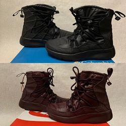 Nike Tanjun High Rise оригинал р. 38 39 40 new сапожки зима ботинки черные