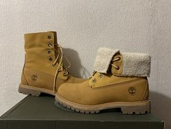 Timberland Teddy Fleece Fold-Down оригинал р. 38 39 new ботинки женские