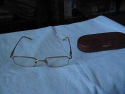 Очки в комплекте с футляром