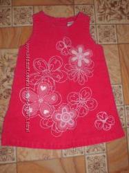 вельветовое платье сарафан Подарок