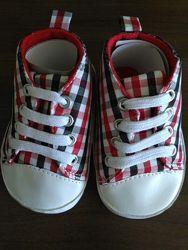 пинетки кеды на шнурках