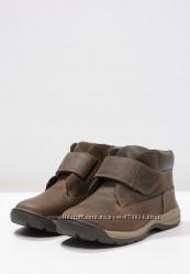 Демисезонные ботинки Timberland. Кожа. Стелька 19, 8см. Оригинал