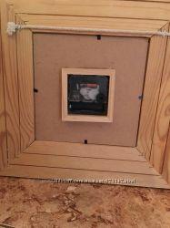 Настенные часы и рамка в детскую комнату