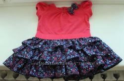 платье на 1-3 месяца