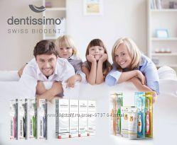 Швейцарские зубные пасты и щётки Dentissimo
