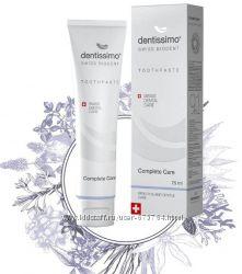 Зубная паста, комплексный уход Dentissimo Complete Care