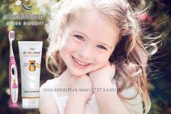 Зубная паста для детей без фтора Dentissimo Kids Швейцария