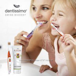 Зубная паста для детей от 6 лет Dentissimo Junior Швейцария