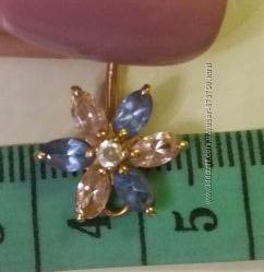 пирсинг для пупка золото 585 пробы вес 2. 33