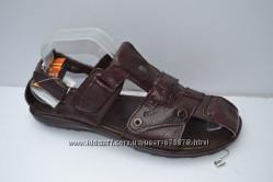 Кожаные мужские сандалии 41р. 27, 5см