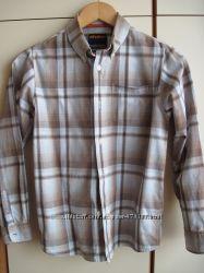 Рубашки фирменные на мальчика 10-12 лет, коттон