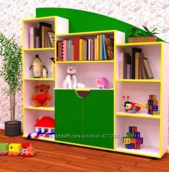 Стенка детская для игрушек Design Service Анечка 546