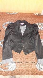 Школьный пиджак и юбка для модницы