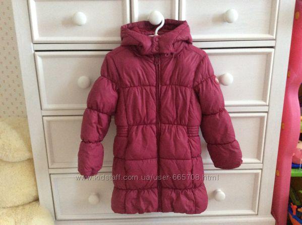 куртка пальто для девочки chicco