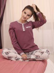 Пижама женская  Коллекция Curly байка теплая