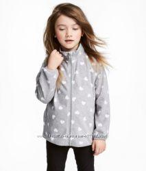 Яркие флиски H&M новые расцветки