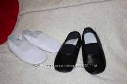 Чешки кожаные для мальчиков и девочек , размер от 17 см до 20 см