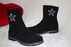 Новинка демисезонные ботинки полусапоги для девочки рр. 32 33 34 35 36 37 н
