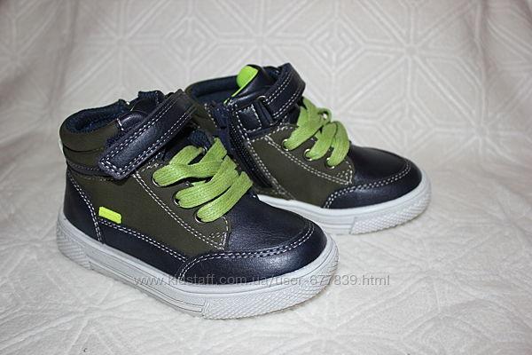 Ботинки демисезонные для мальчиков бренда Солнце - Kimboo рр.21 22 23 24