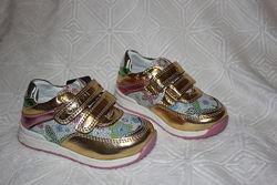 Распродажа детские кроссовки туфли для девочек. тм с. луч р.22-14,5 см