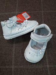 Пинетки-туфли бренда аpawwa для девочек рр. 17 18 19 20 польша