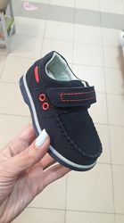 Замшевые мокасины, туфли бренда Солнце - Kimbo-o для мальчиков рр. 21 22 23
