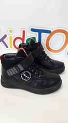 Новинка демисезонные кожаные ботинки для мальчика фирмы maxsus рр.32 33 34