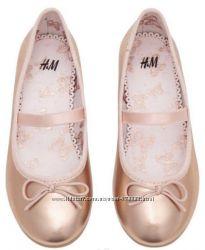 Туфли балетки девочке 28 размер Н&М