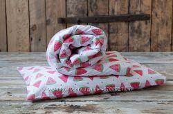 Оригинальное детское постельное белье Сонный арбузик - 100 хлопок