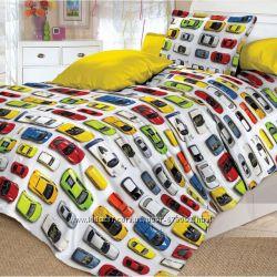 Постельное белье для мальчиков c модельками машинок Авто Коллекция