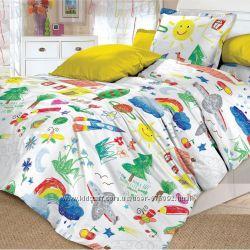Оригинальное детское постельное белье Радуга Арт