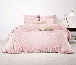 Постельное белье Звезды Pink из турецкого ранфорса премиум