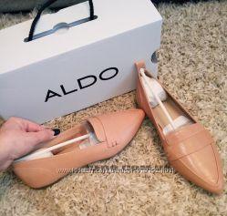 Кожаные туфли от известного канадского бренда ALDO. Оригинал