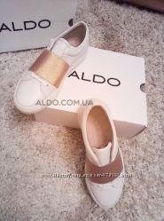 Супер мягкие кожаные кеды-сникерсы от канадского бренда ALDO. Оригинал
