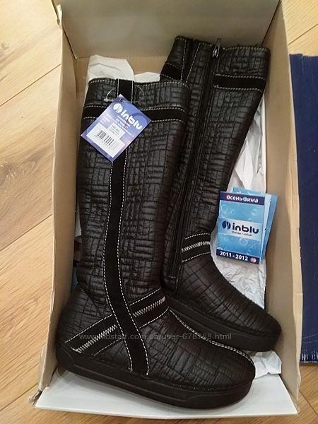 Сапоги, ботинки утеплённые, на овчинке 35 размер, по стельке 22. 5 см