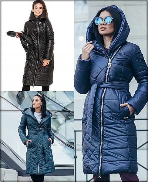 Теплое зимнее пальто с глубоким капюшоном, пальто зима