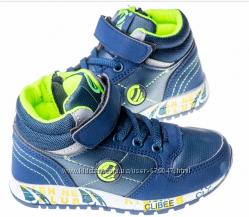 Качественные детские ботинки clibee для мальчиков