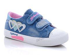 джинсовые кеды детские для девочек comfort-baby