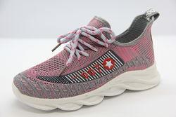 Кроссовки в сетку для девочки lilin shoes