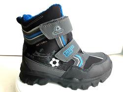 качественные термо ботинки для мальчика american club-польша