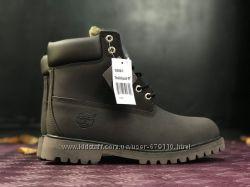 Женские зимние ботинки Timb Dark Brown Fur