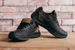 Подростковые кожаные кроссовки Ecco Черные 10703 85117e71c0b85
