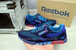 Мужские кроссовки сетка Reebok СинийГолубой 102020 cee09c38cf4af