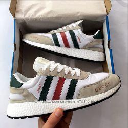 Мужские кроссовки Adidas Iniki runner x Gucci