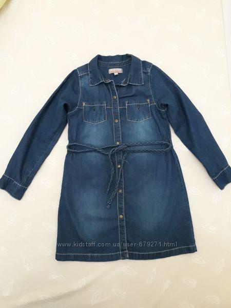 Джинсове плаття 116-128р. Італія 7dc5166f71a80