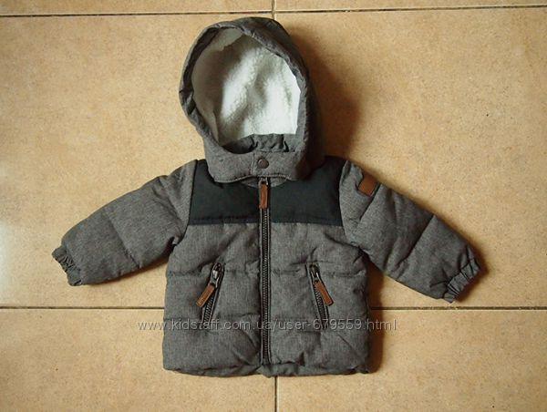 Деми куртка H&M для мальчика 68 см 4-6 мес. новая